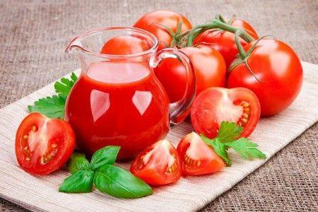 Томатный сок и томаты