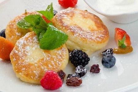 рецепт сырников из творога для диабетиков