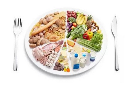 Тарелка с пищей
