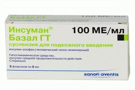 Инсуман Базал ГТ